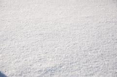 De vlakke witte achtergrond van de de wintersneeuw Royalty-vrije Stock Fotografie