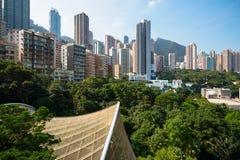 De vlakten van Hongkong Stock Afbeelding
