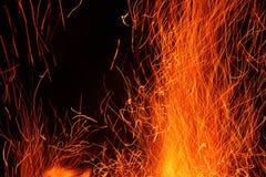 De vlam van de brand Royalty-vrije Stock Fotografie
