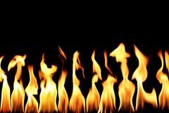 De vlam van de brand Royalty-vrije Stock Afbeeldingen