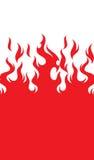 De vlam van de brand Stock Fotografie