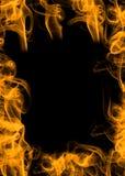 De vlam van de brand royalty-vrije stock foto's