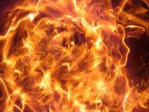 De vlam van de macht royalty-vrije stock foto