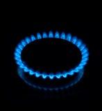 De vlam van het gas Royalty-vrije Stock Afbeelding
