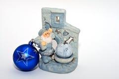 De vlam van Kerstmis stock afbeeldingen