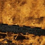 De Vlammen van de brand Royalty-vrije Stock Afbeelding
