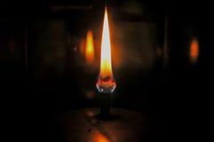 De Vlammen van de lantaarn royalty-vrije stock afbeelding