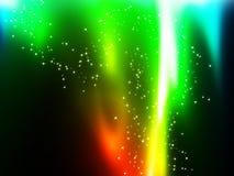 De vlammen van de regenboog Stock Afbeeldingen