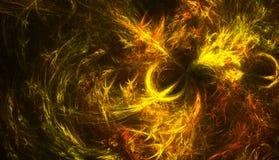 De Vlammen van de vogel Stock Afbeeldingen