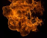 De vlammenachtergrond van de brand royalty-vrije stock afbeelding