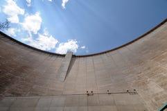 De vlammende Dam van de Kloof Royalty-vrije Stock Foto's