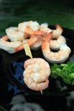 De vleespen van de garnalencocktail Royalty-vrije Stock Foto's