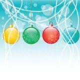 De vleiende prentbriefkaar van het Nieuwe jaar. Royalty-vrije Stock Fotografie