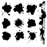 De vlekken van de inkt Royalty-vrije Stock Afbeeldingen
