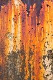 De Vlekken van de Roest van de golfbreker Stock Afbeeldingen