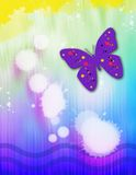 De Vlekken van de vlinder Stock Foto