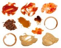 De vlekken van het voedsel Royalty-vrije Stock Fotografie