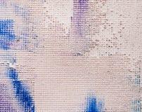 De vlekken van verf op canvas vector illustratie