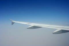 De vleugel van Aeroplne Royalty-vrije Stock Foto