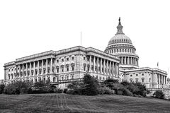 De Vleugel van de het Capitoolsenaat van Verenigde Staten in Washington DC stock afbeeldingen
