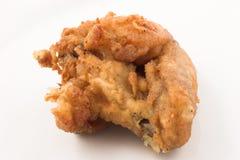 De vleugel van de kip Stock Foto's