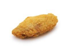 De vleugel van de kip Stock Fotografie