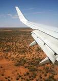 De Vleugel van vliegtuigen Stock Afbeeldingen