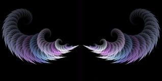 De Vleugels van de engel stock illustratie