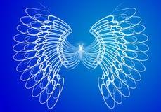 De vleugels van de engel Royalty-vrije Stock Afbeeldingen