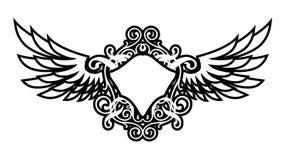 De Vleugels van de luxe royalty-vrije illustratie
