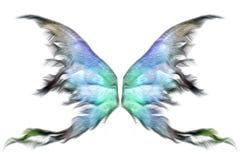 De vleugels van de pastelkleur stock illustratie