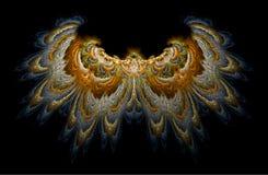 De vleugels van de valk royalty-vrije illustratie