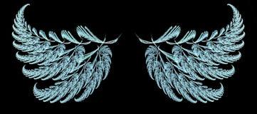 De Vleugels van de veer royalty-vrije illustratie