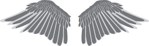 De vleugels van de vogel stock illustratie