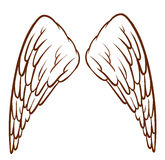 De Vleugels van een Engel royalty-vrije illustratie
