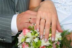 De vleugels van het huwelijk Royalty-vrije Stock Afbeeldingen