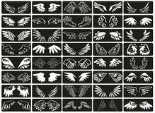 De vleugels zullen vector illustratie