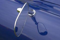 De vleugelspiegel van de auto Stock Afbeelding