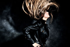 De vlieg van het haar Stock Fotografie