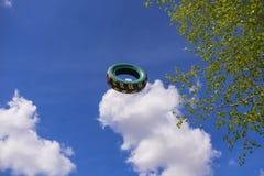 De vliegende autoband Royalty-vrije Stock Fotografie