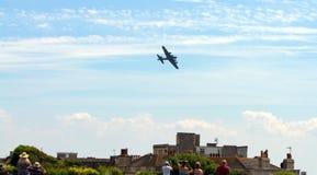De vliegende weston-s-Merrie van Vestingsweston air festival op Zondag 22 Juni 2014 stock afbeelding