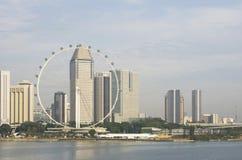 De Vlieger en de horizon van Singapore Royalty-vrije Stock Afbeelding