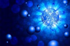 De vlieger van de danspartij, muzikale achtergrond, vector Stock Foto