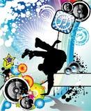 De Vlieger van de Gebeurtenis van de Dans van de onderbreking Stock Foto