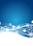 De vlieger van de winter Royalty-vrije Stock Afbeeldingen