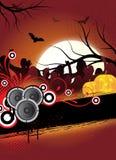 De vlieger van Halloween Stock Fotografie
