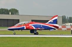 De Vliegtuigen van de Havik van Royal Air Force Stock Foto's