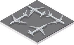 De Vliegtuigen van de luchtbus A320 Royalty-vrije Stock Fotografie