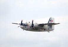 De vliegtuigen van de Marine van de Handelaar van Grumman c-1A Stock Afbeeldingen