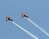 De Vliegtuigen van de stunt Royalty-vrije Stock Afbeelding